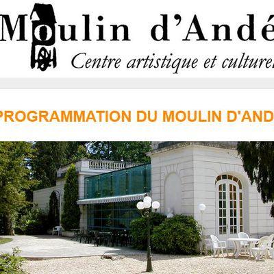 PROGRAMMATION DU MOULIN D'ANDÉ