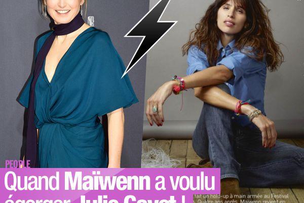 Quand Maïwenn a voulu égorger Julie Gayet ! #Clash