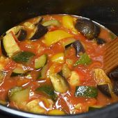 Ratatouille piment Espelette cookeo |