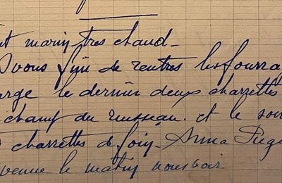Jeudi 14 juin 1951 - deux charrettes de luzerne