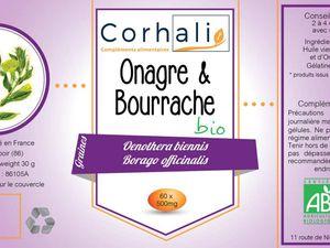 Etiquette Corhali nouvelle version