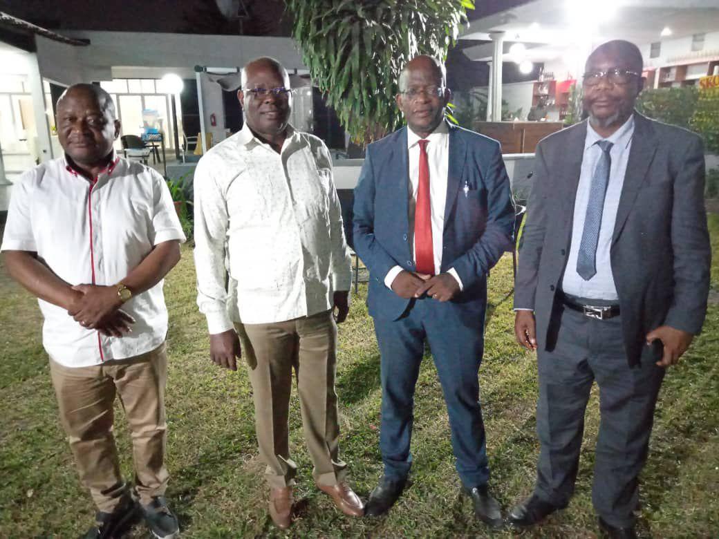 Les pionniers : commission électorale, Union sacrée de l'opposition, Société civile, UDPS