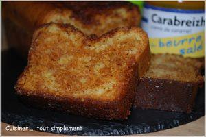 Cake marbré Vanille - Caramel