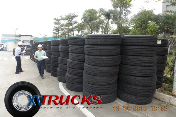 1/ Pneus - Jantes -Camions & Semi Remorques - Export Chine Import Export Afrique - Moyen Orient - Trucks Tires China - Semi Trailers Tires China - اطارات الشاحنات بالصين
