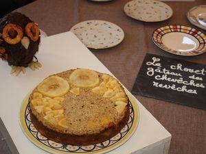 le chouette gâteau et la tarte meringuée