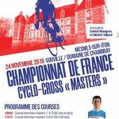 Les listes officiels des engagés aux championnats de France de cyclo-cross au Chateau de Gouville (27) - Le blog du DREUX CC