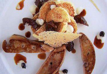 préparons les fêtes : foie gras de canard rôti