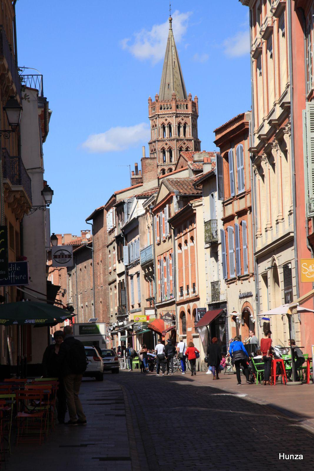 Toulouse, rue du Taur