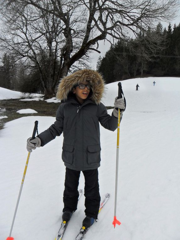 Première sortie ski de fond pour les CP CE1 et Sésames