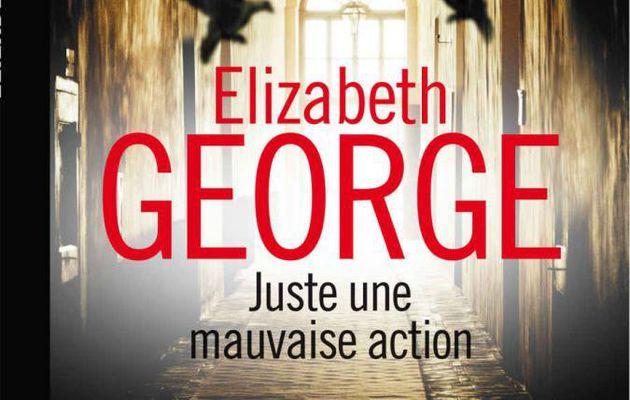 Juste une mauvaise action, d'Elizabeth George