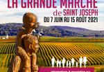 La grande marche de saint Joseph de Paris à Cotignac du 7 juin au 15 août 2021