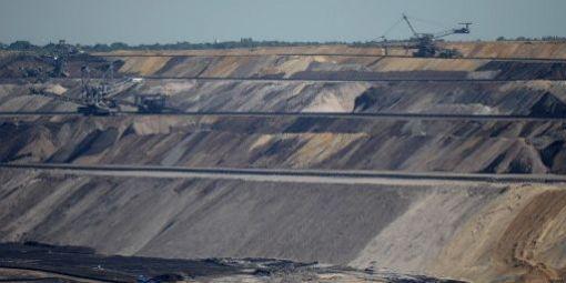 Source de la pollution, les mines de charbon allemandex, en particulier Garzweiler