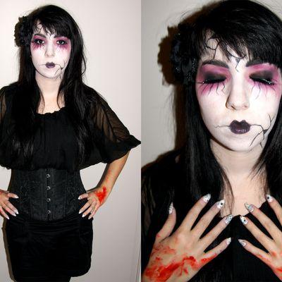 C'était Halloween... J'adore Halloween ;)