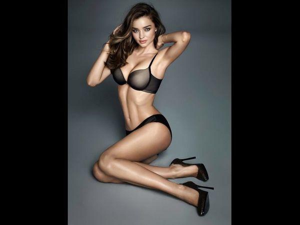 Miranda Kerr mega sexy pour #Wonderbra ! photos