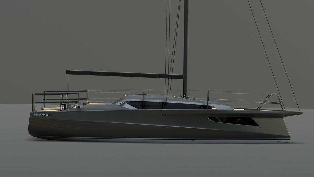 La marque de voiliers Sunbeam dévoile le nouveau Sunbeam 32.1 !