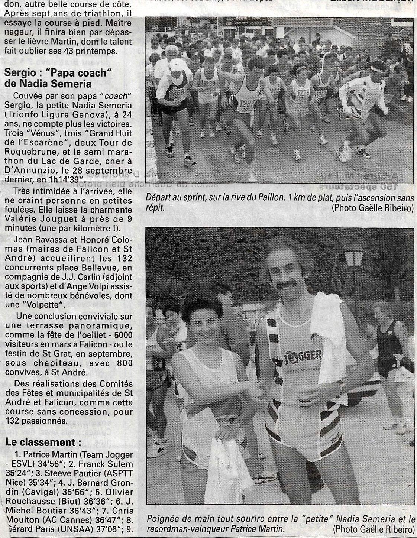 Xe SAINT-ANDRE - FALICON  16.11.1997
