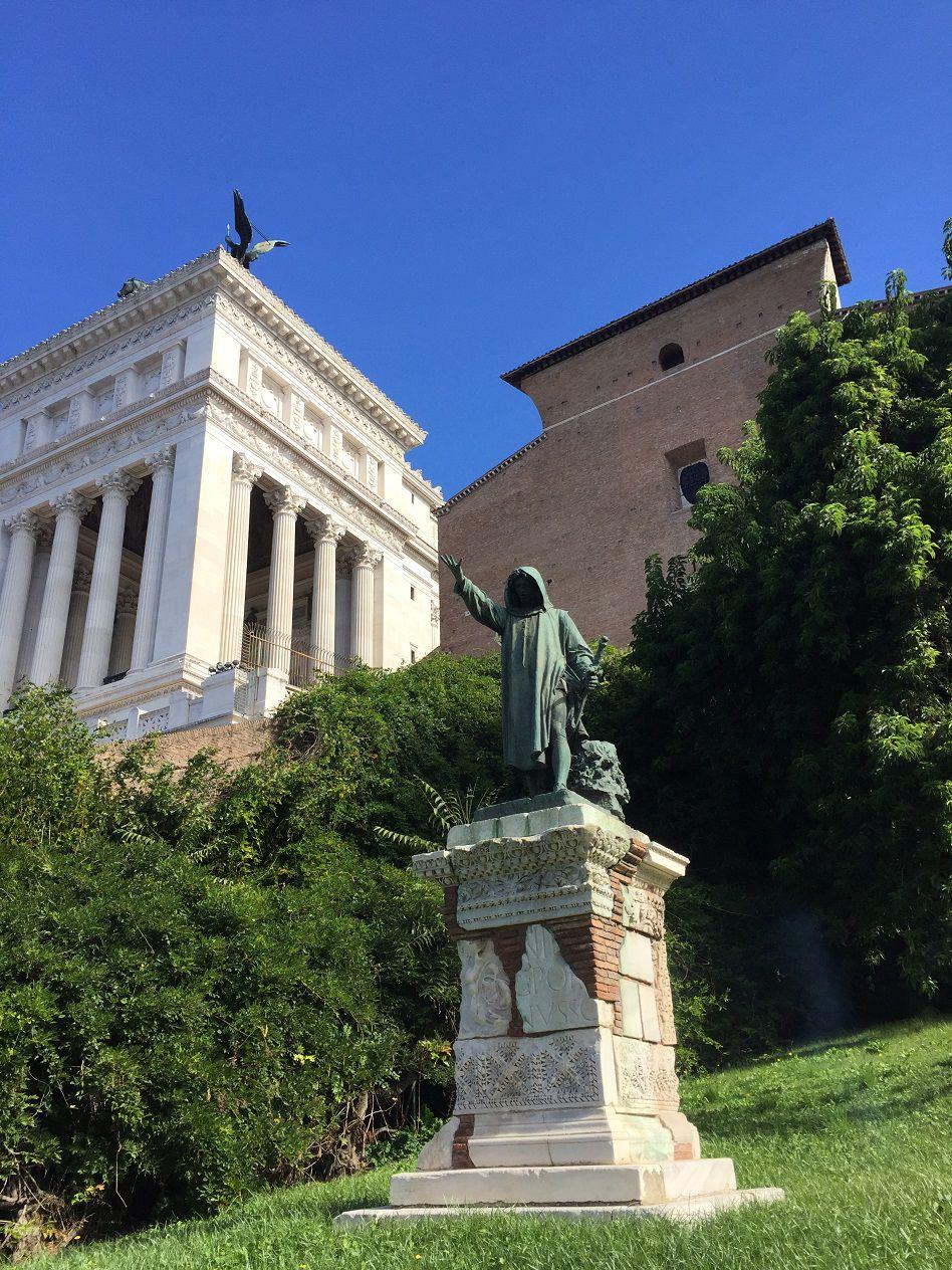 En allant au Musée du Capitole