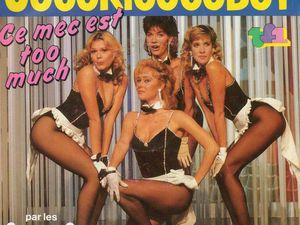 les coco-girls, une troupe de danseuses et de chanteuses créée par l'humoriste et animateur de télévision Stéphane collaro