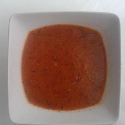 Soupe tomates basilic!