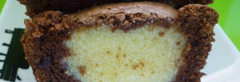 Cake au Coeur Blond