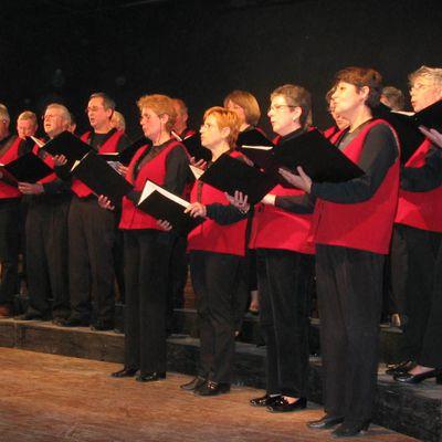 Saint-Valery-sur-Somme - La chorale de la Baie de Somme en représentation le 14 mai