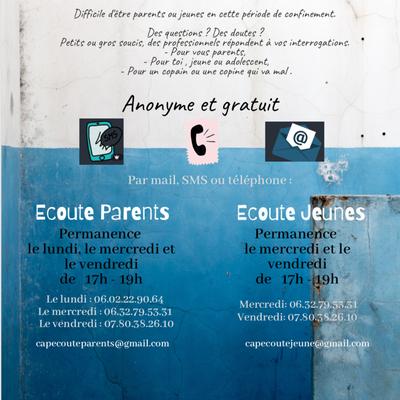 Cap Ecoute Parents-Enfants