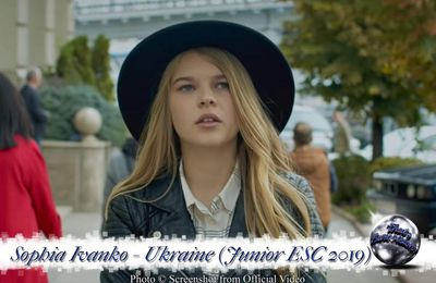 Ukraine - Sophia Ivanko - The Spirit of Music (Junior ESC 2019)