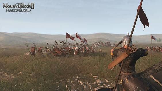 #Gaming - MOUNT and BLADE II BANNERLORD DÉVOILE SA CAMPAGNE SOLO BAC À SABLE À LA #GAMESCOM