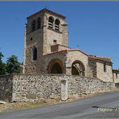 Eglise de Vezezoux - L'Auvergne Vue par Papou Poustache