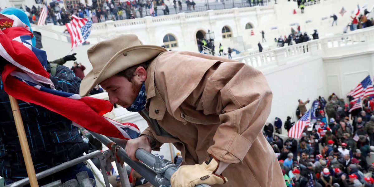 USA: Roman-photos de la prise du Capitole