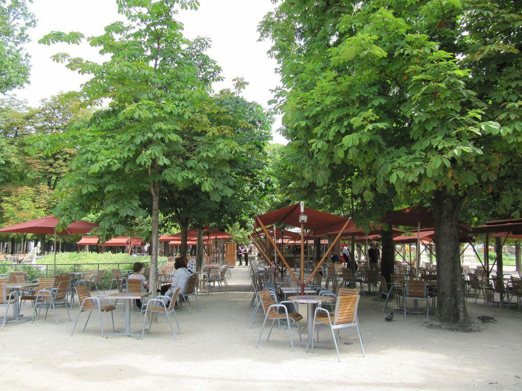 Flânerie dans les jardins des Tuileries ...