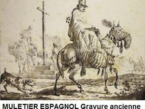 Mules harnachées : 3 oeuvres de Karel DUJARDIN et une gravure espagnole