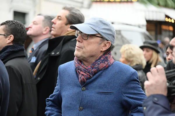 Obseques de MICHOU - Eglise Saint Jean de Montmartre 31/01/2020 - Paris - France