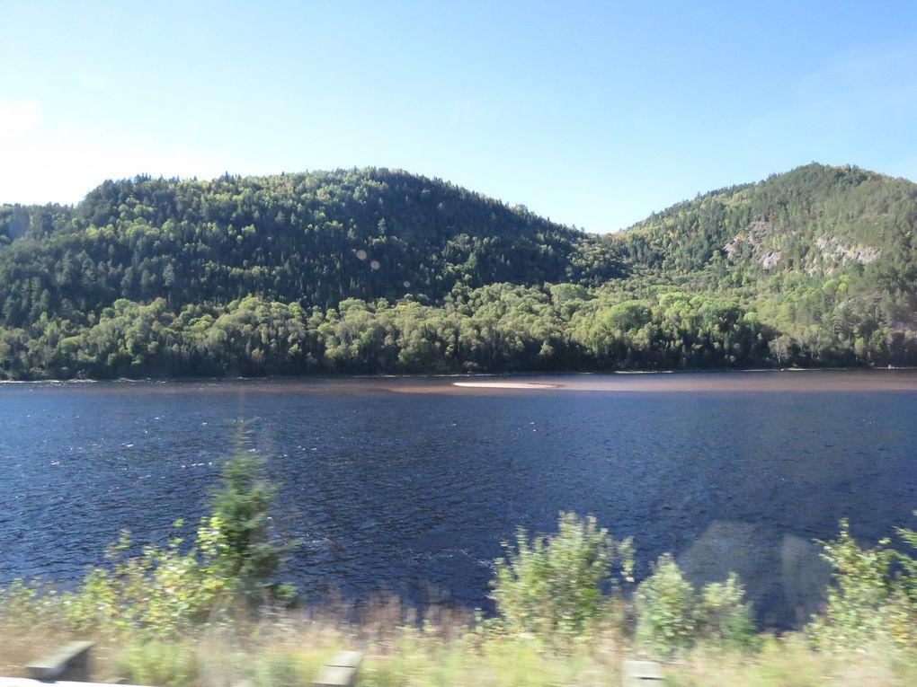 Voyage au Canada .... De Saguenay à Montreal (jours 7 et 8)