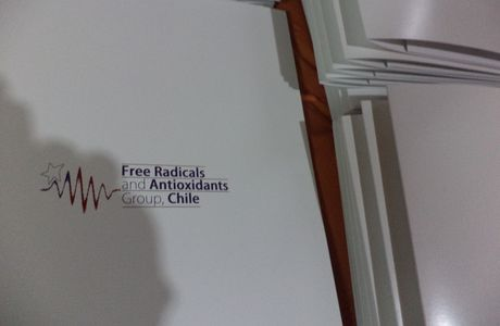 "Diseño e impresión de Carpetas Corporativas para ""Free Radicals and Antioxidants Group Chile"""