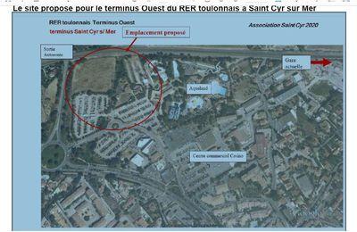 RER Toulonnais: Pour la gare « terminus Ouest » à St CYR