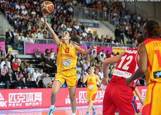 L'Espagne domine la Serbie et se qualifie en finale