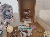 Mosaiques Joëlle Talpin marché de Noël de Trets