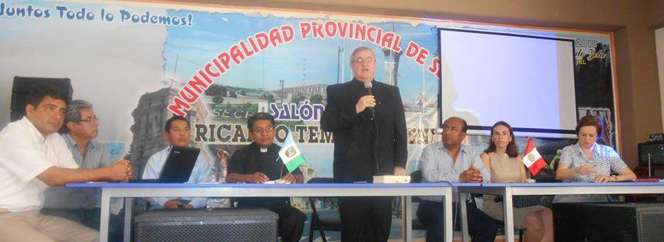 En febrero culminarían trabajos en templo San Martín de Tours