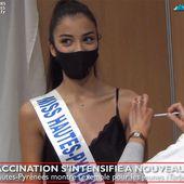 Miss Hautes-Pyrénées se fait vacciner à Tarbes (13 juil 21) | La Télé de Tarbes