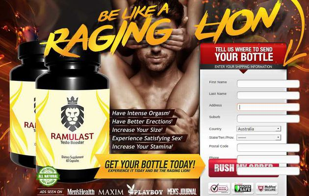 Ramulast Testo Booster:- Best Testosterone Booster Pills For Men's Health