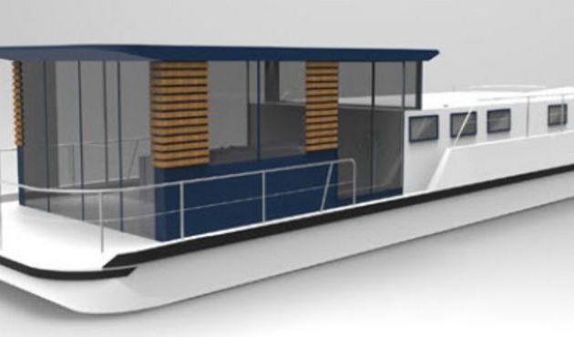 Avec LaPéniche 1500, Les Canalous revisitent le bateau fluvial habitable