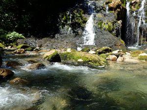 Cascade de pissieux: Depuis le Villaret rouge