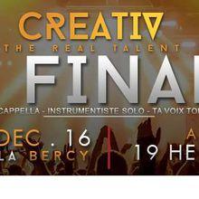 Event : Rendez-vous le 09 décembre pour la finale de la compétition Creativ.