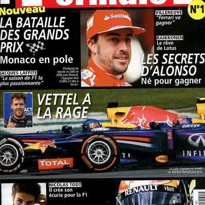Un nouveau magazine F1 en kiosque