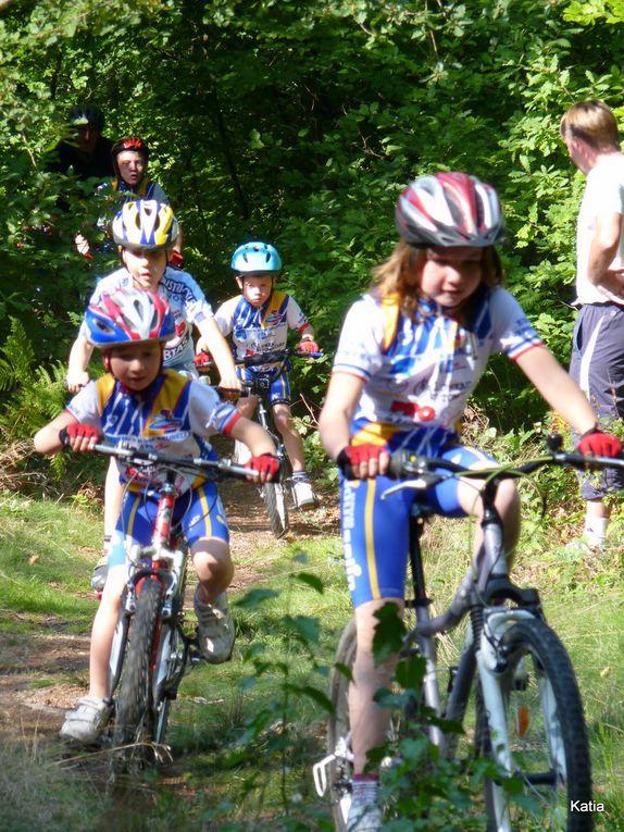 l'école de Cyclisme du Stade Vernolien au Neubourg VTT