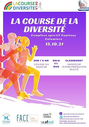 course diversite colomiers harmonie mutuelle affiche