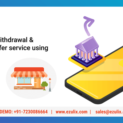Offer Cash Withdrawal & Money Transfer Service Using B2B App