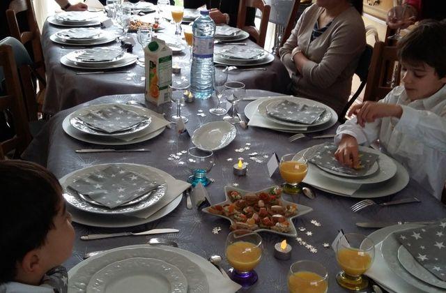 A la table familiale