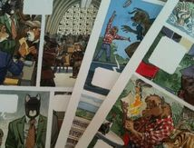 First pages of the next Blacksad delivered this morning... (François Le Bescond)